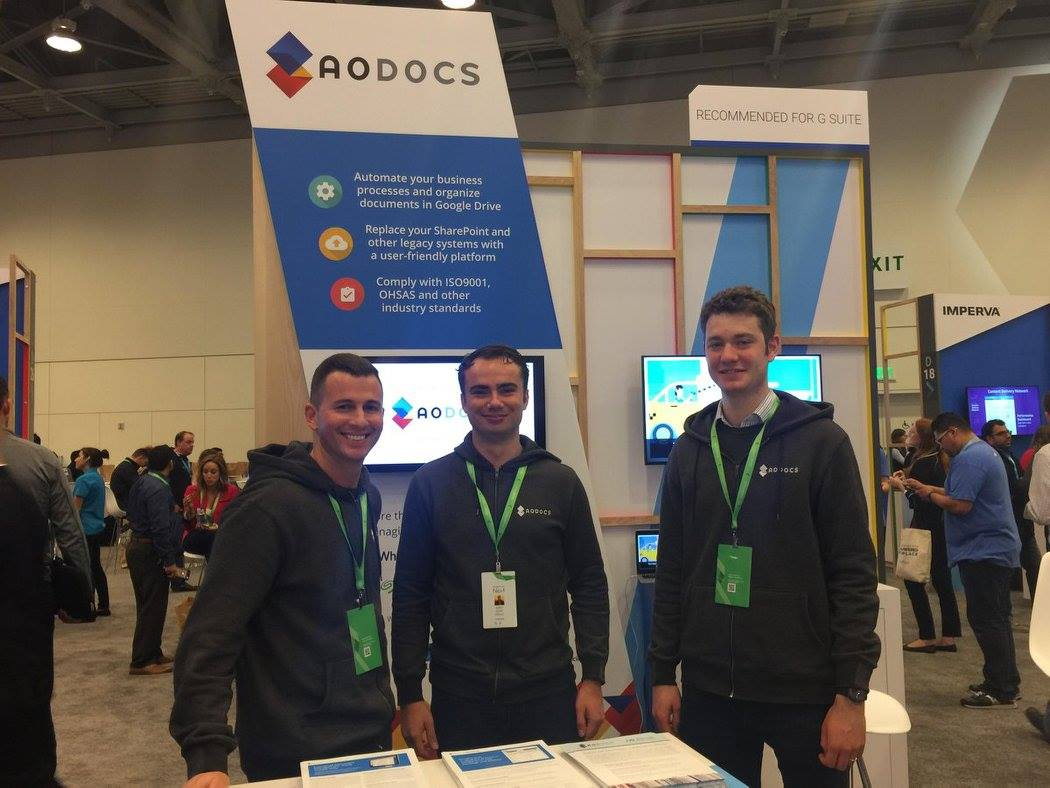 AODocs at Google Cloud Next