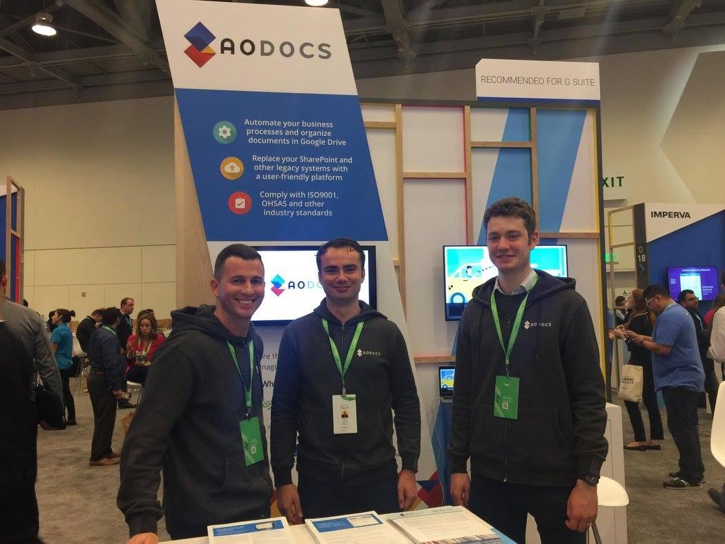 AODocs at Google Cloud Next