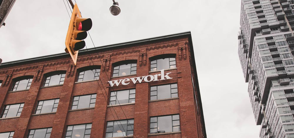 WeWork Office in City