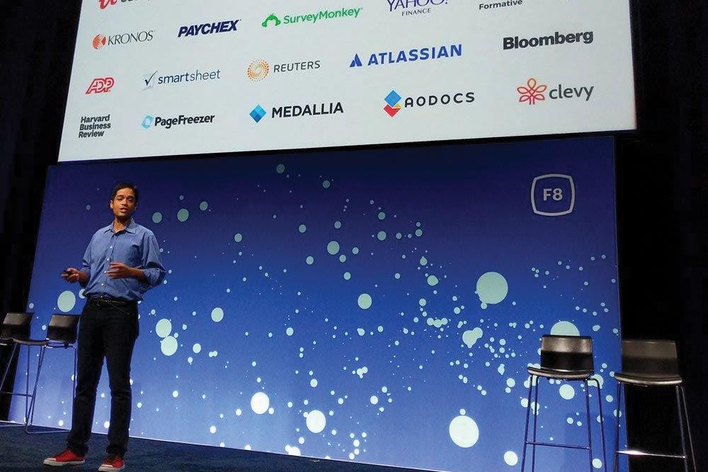 Workplace Presentation at Facebook F8