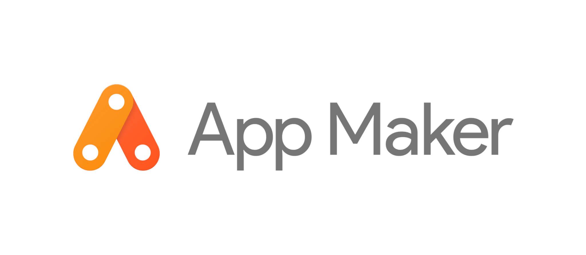 Google App Maker Logo